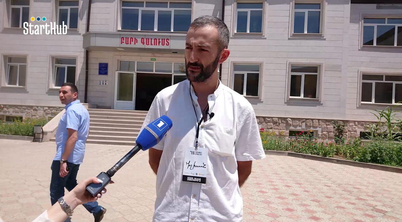 Սահմանապահ Կարմիր Շուկայում բացվեց «Արմաթ» ինժեներական լաբորատորիա. տեսանյութ