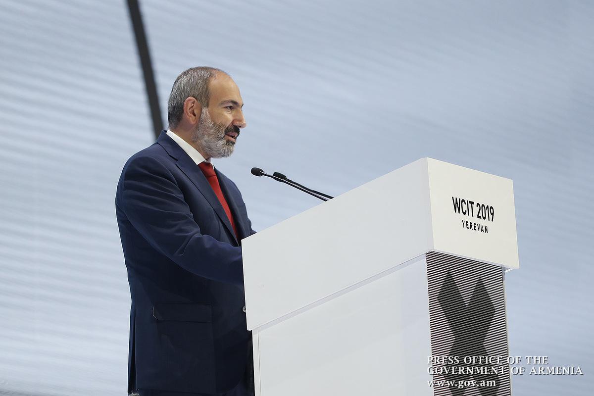 Նիկոլ Փաշինյանը մասնակցել է ՏՏ 23-րդ համաշխարհային կոնգրեսի պաշտոնական բացմանը