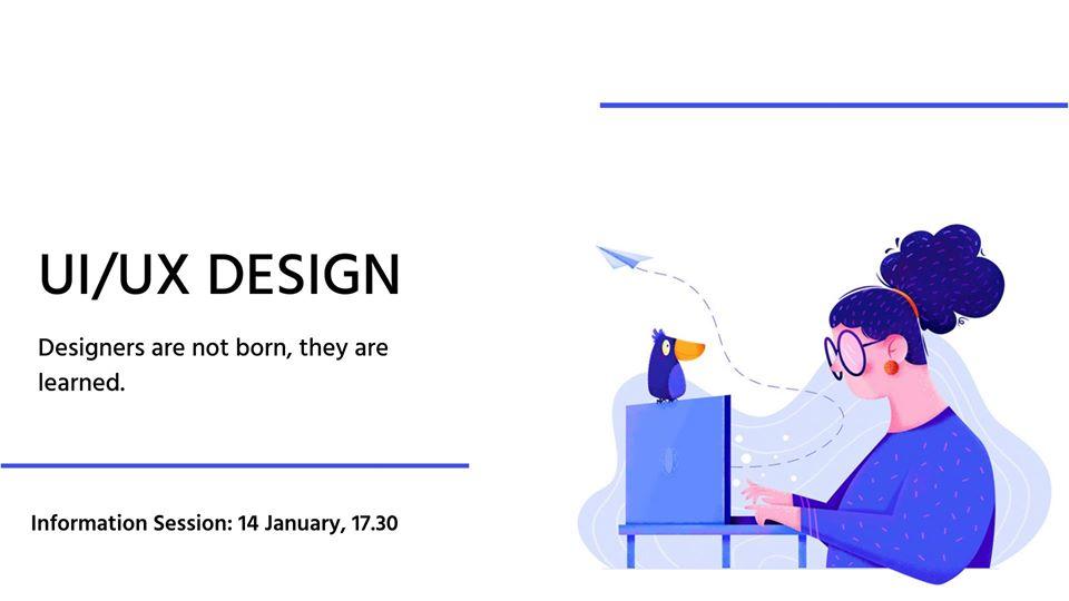 UI/UX դիզայն դասընթացի տեղեկատվական հանդիպում