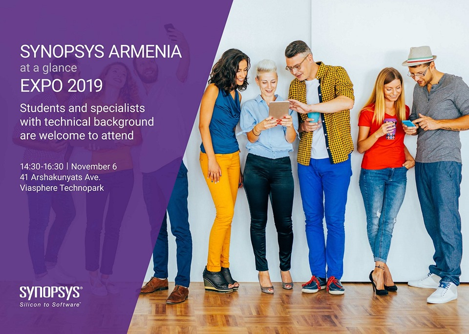 Տեղի կունենա Synopsys Armenia Expo 2019