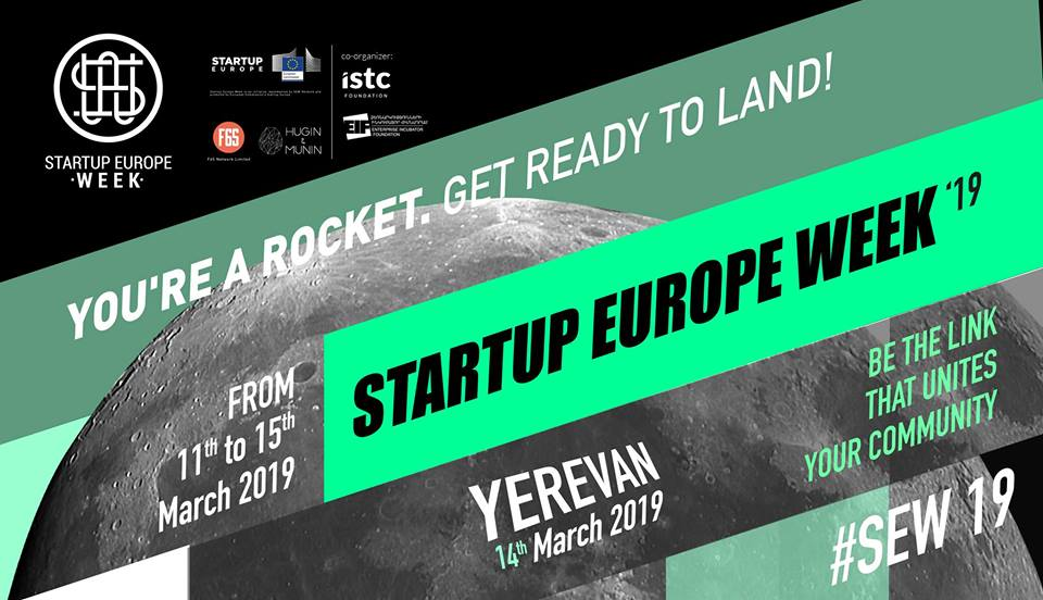 Startup Europe Week '19 EVN. Համատեղ կայուն տեսլականի ստեղծում
