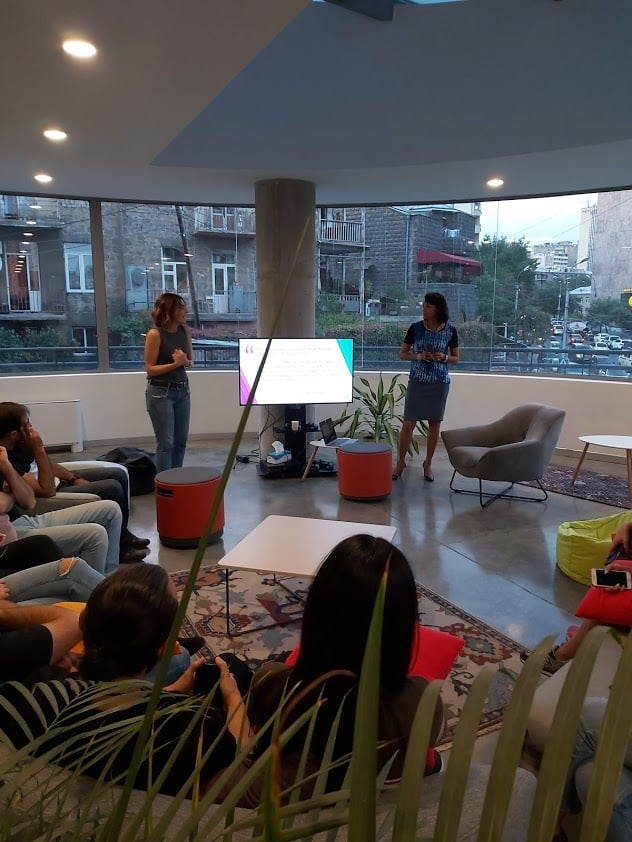 WCIT-ի խոսնակը այցելել է SoloLearn Armenia-ի գրասենյակ