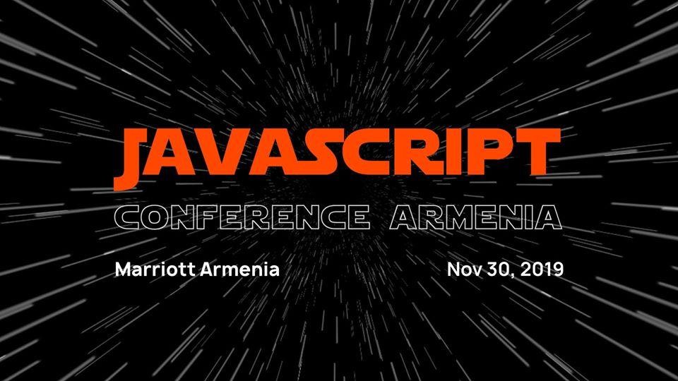 Տեղի կունենա JS Conf Armenia 2019