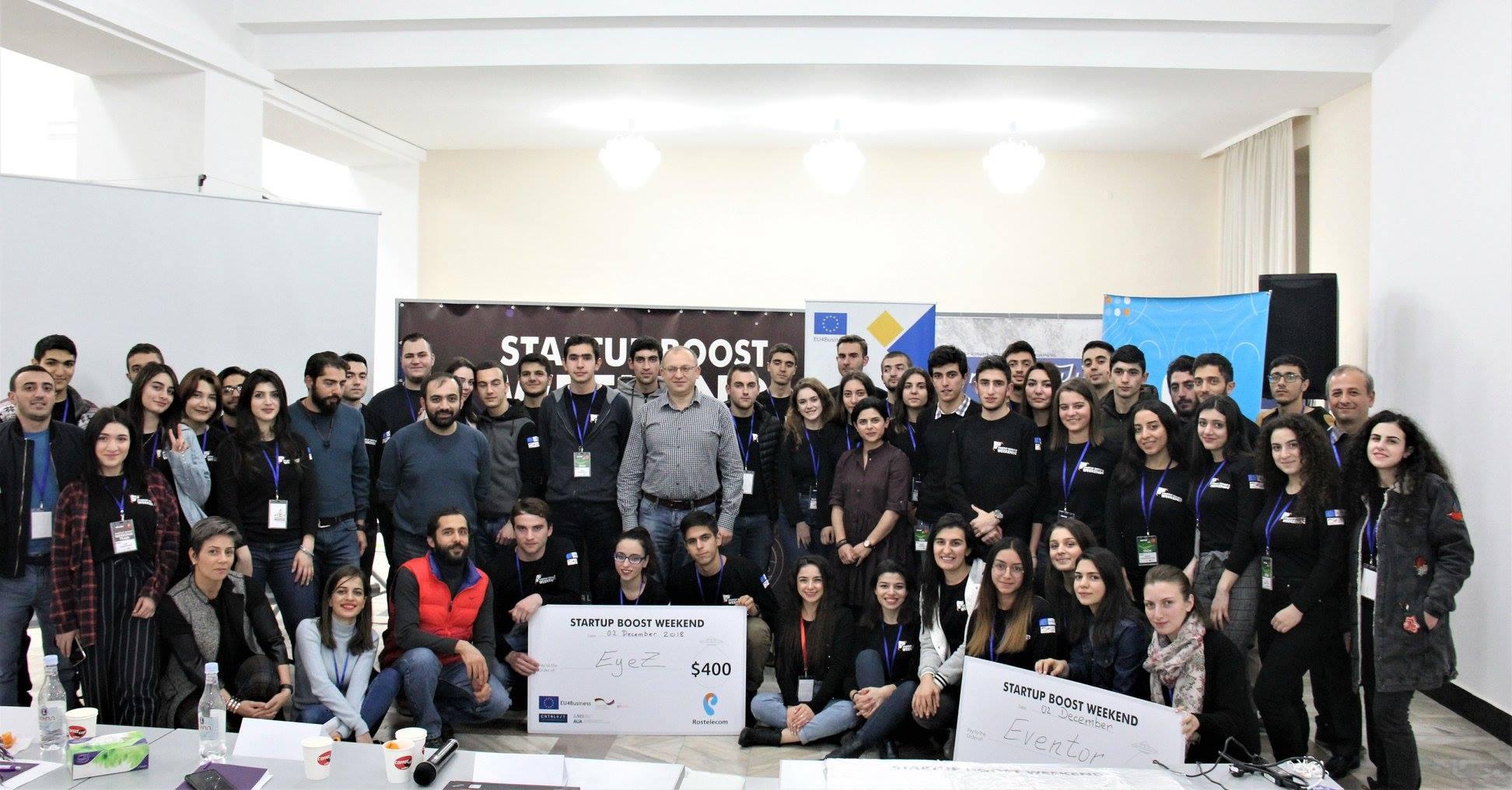 Հայտնի են Startup Boost Weekend Vol3 մրցույթի հաղթողները