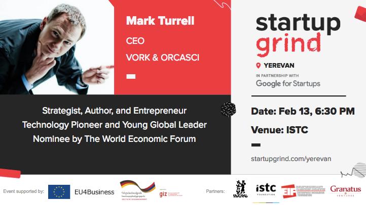 Startup Grind-ի երևանյան մասնաճյուղը կհյուրընկալի «VORK»-ի հիմնադիրին