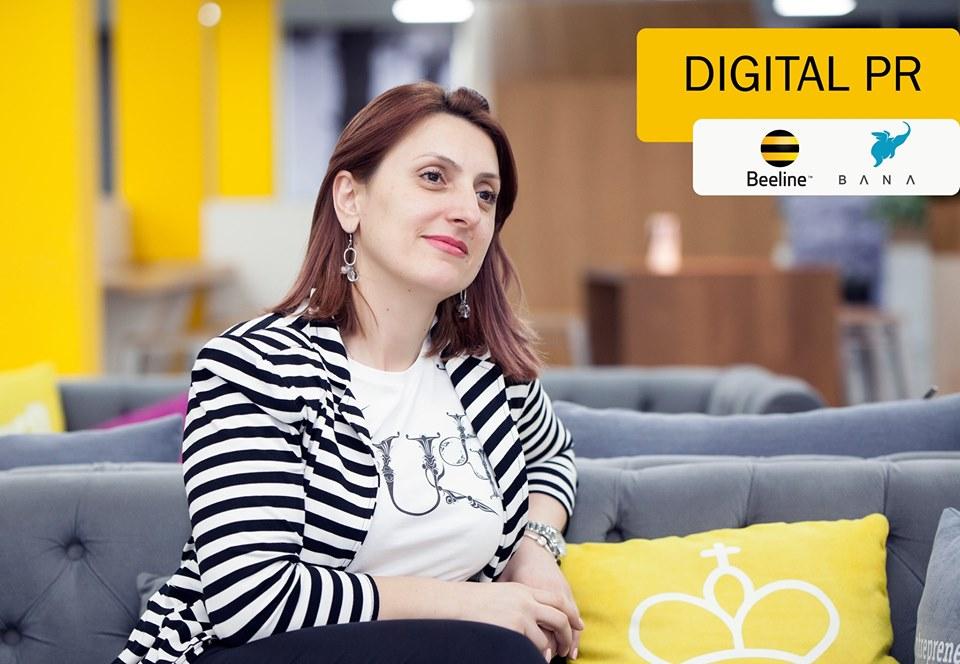 Digital PR սեմինարը Beeline-ի գլխավոր գրասենակում