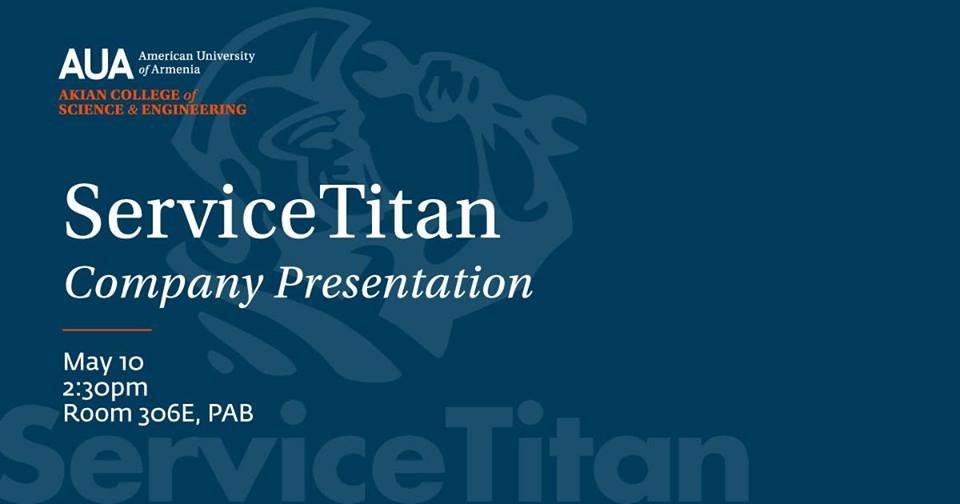 ServiceTitan ընկերության պրեզենտացիան Ամերիկյան Համալսարանում