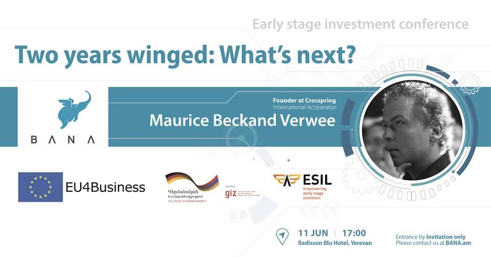 Angel Investing Conference-ը կանցնի Երևանում