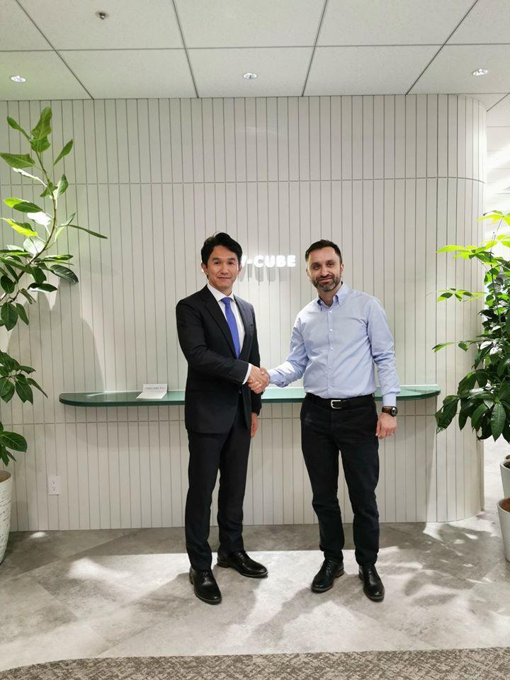 Krisp-ը գործարկվեց Ճապոնիայում. կնքվեց պայմանագիր V-Cube-ի հետ