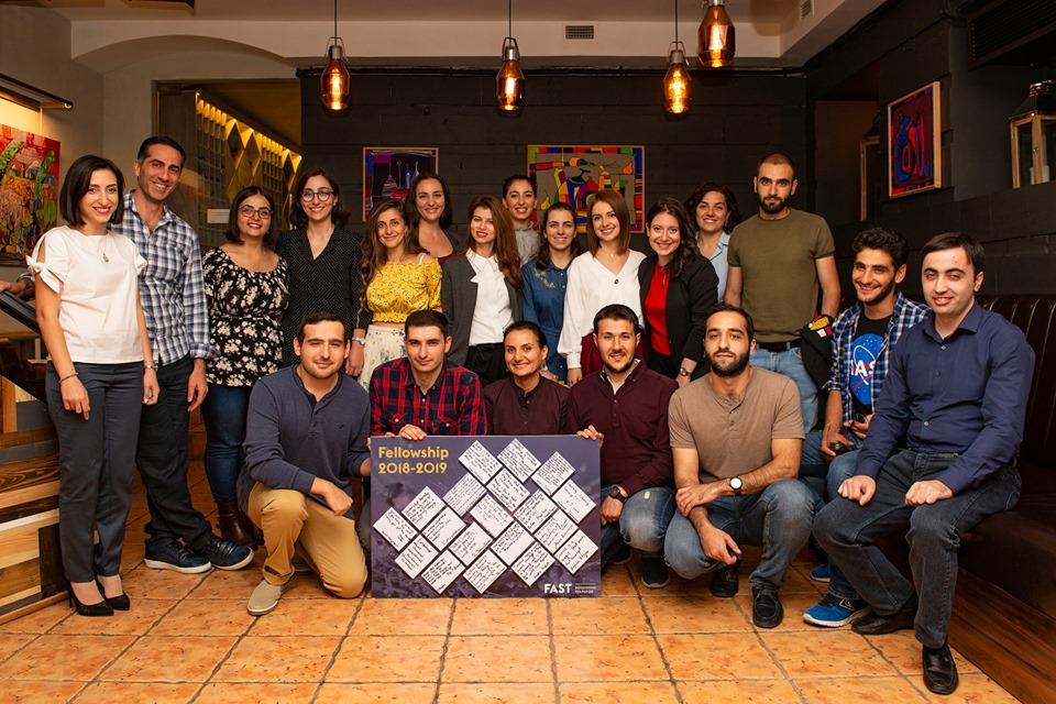 19 հետազոտողներ ավարտեցին FAST Fellowship-ը