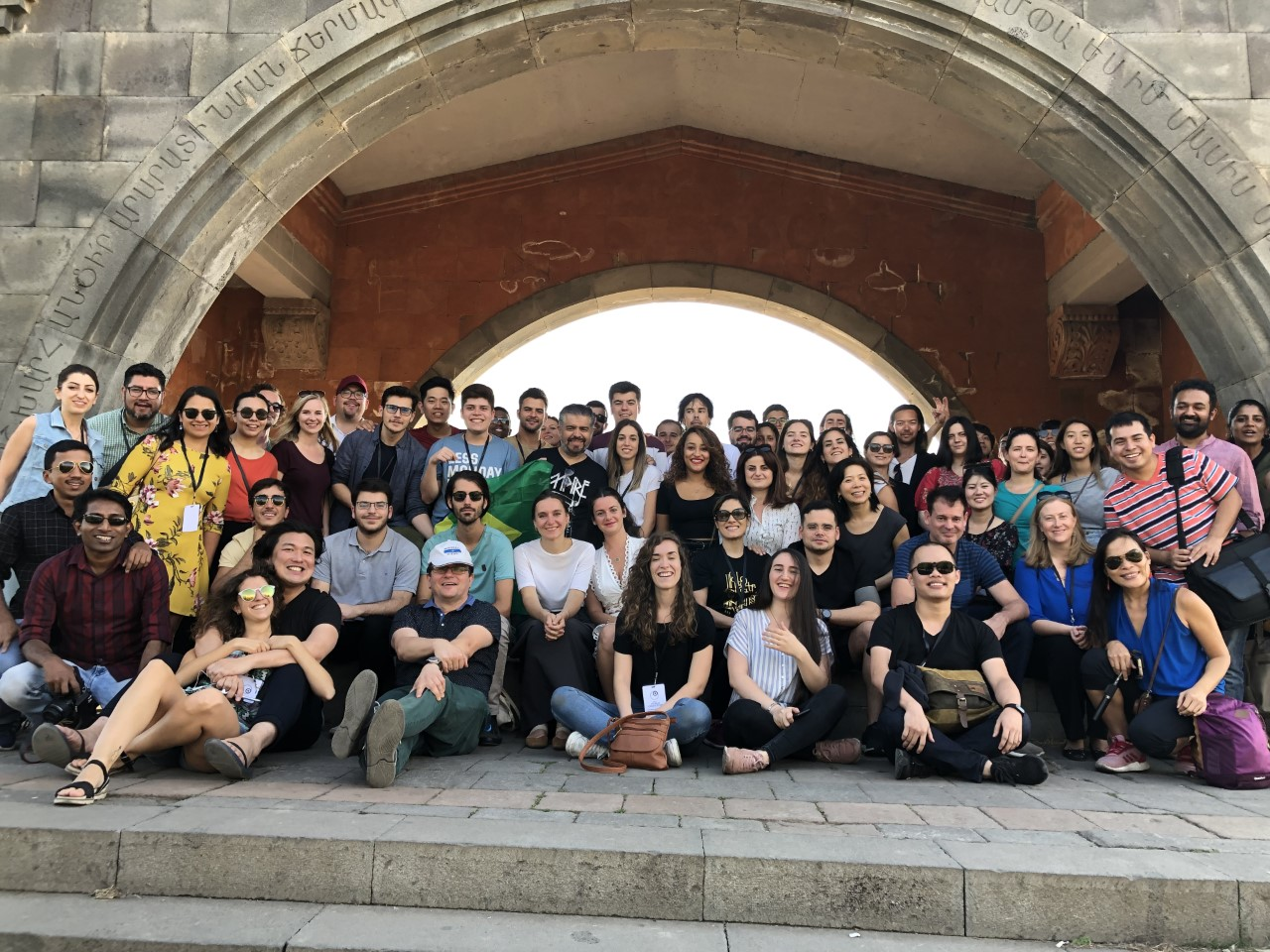 WCIT համաշխարհային նվագախմբի երաժիշտները այցելել են Մատենադարան