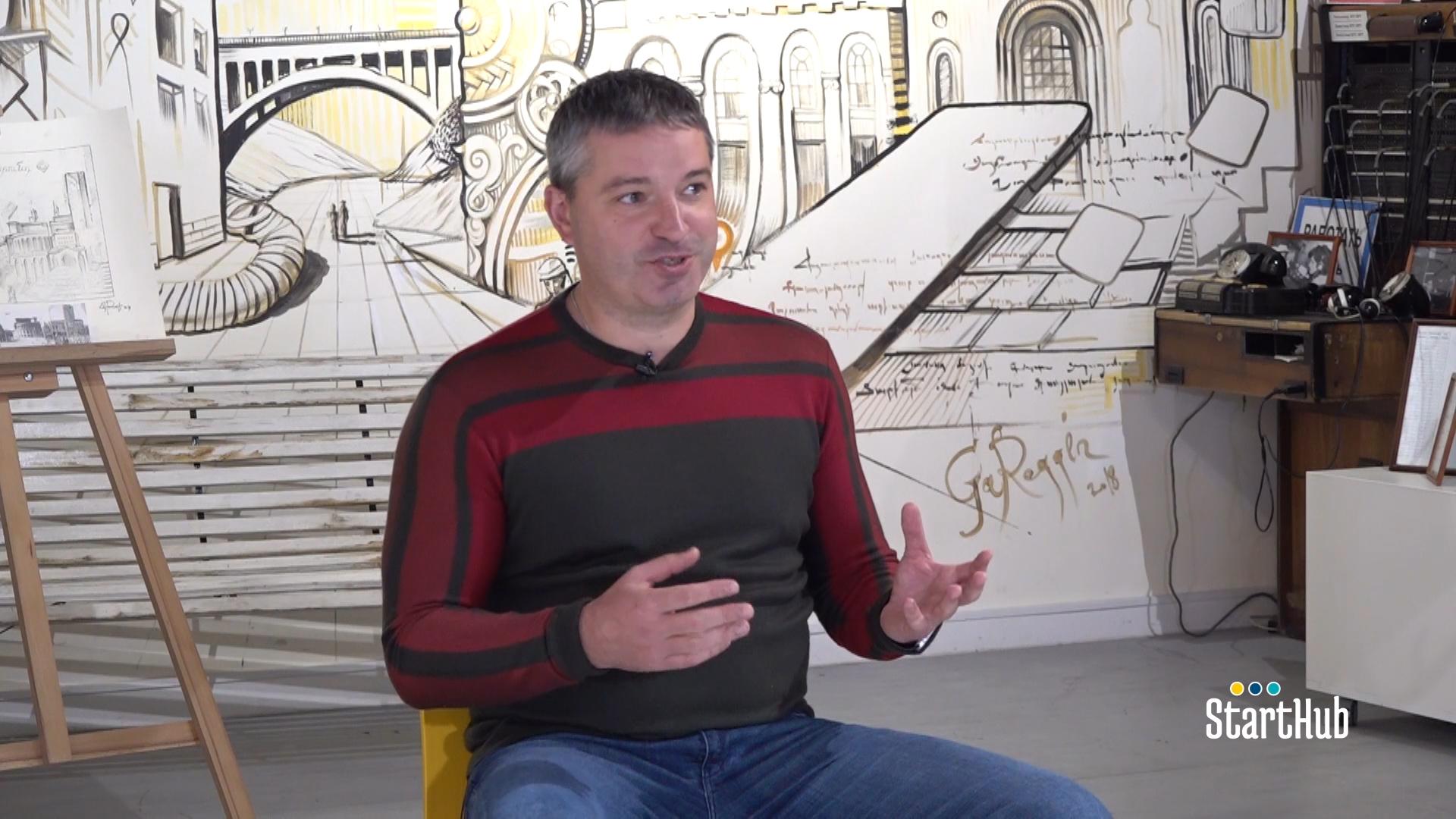 Starthub 360. Անդրեյ Պյատախին՝ Հայաստանում Beeline-ի գլխավոր տնօրեն