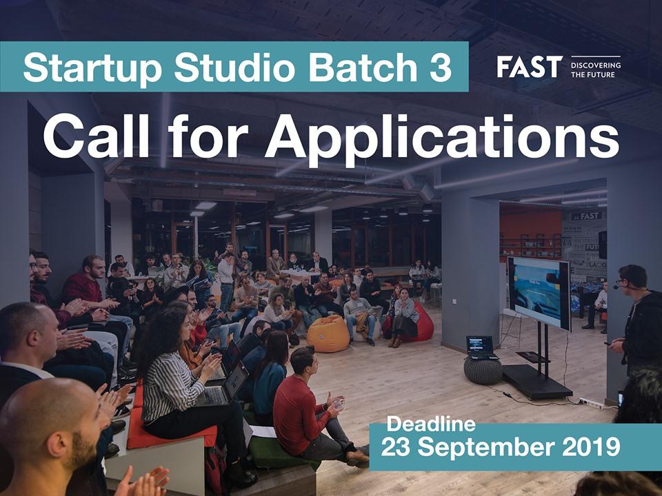 FAST Startup Studio-ն ընդունում է հայտեր