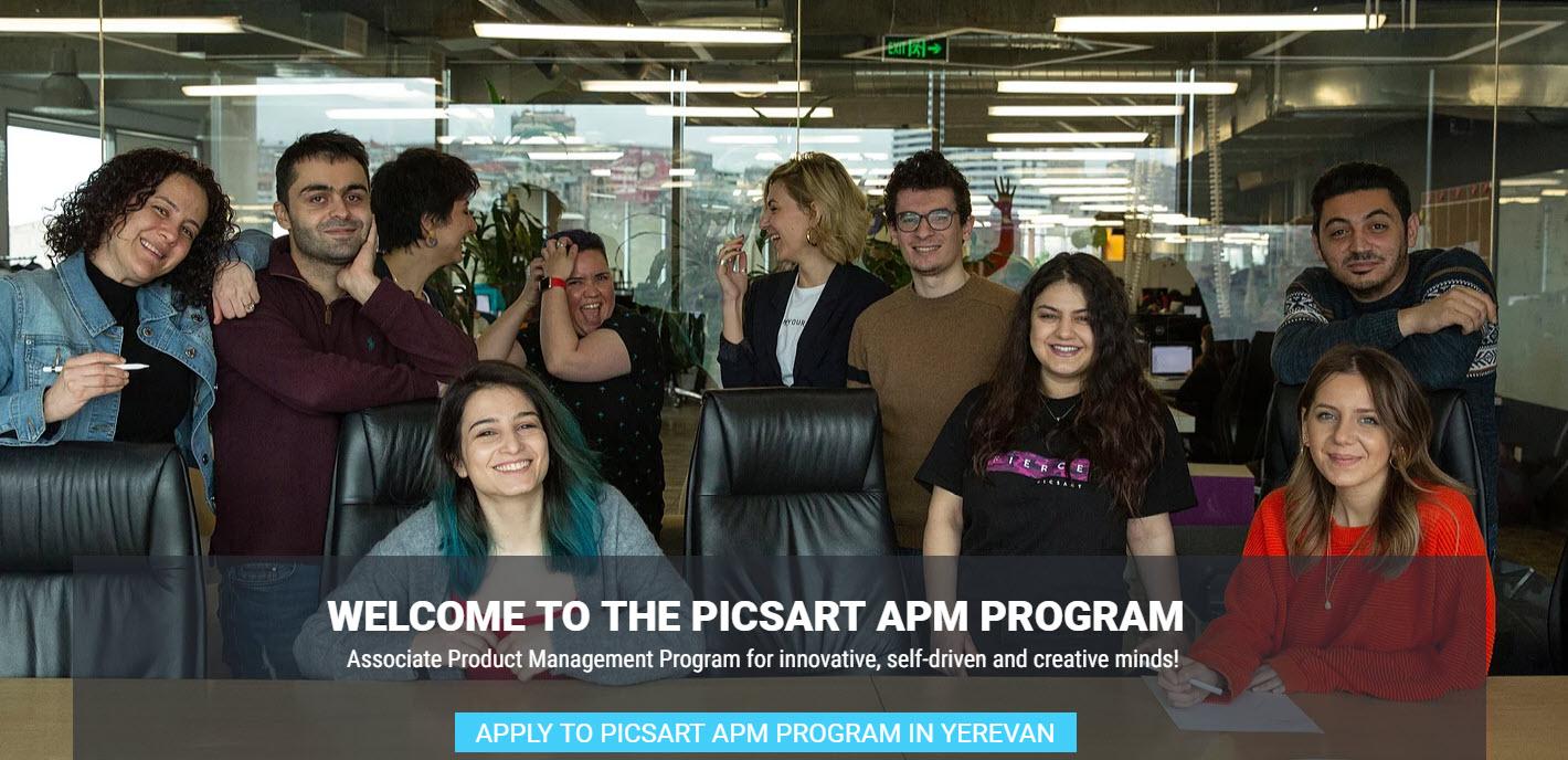 PicsArt-ը ընդունում է հայտեր Product Manager մասնագիտացման ծրագրին